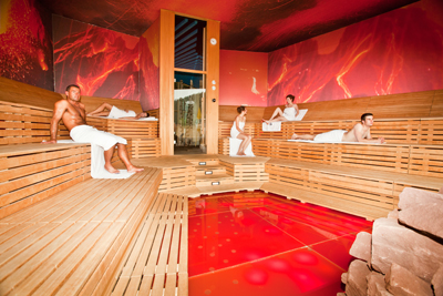 getrennt duschen im saunabereich