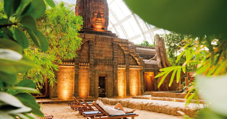 Image result for tropical islands sauna